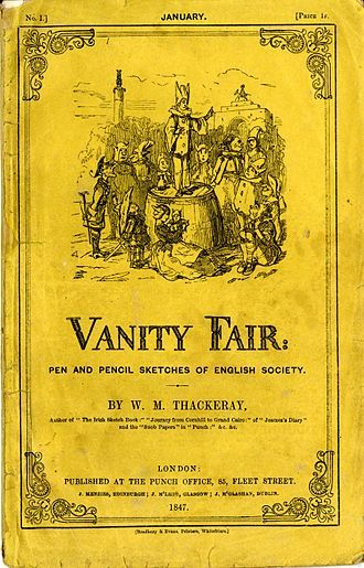 Vanity Fair Novel Cover