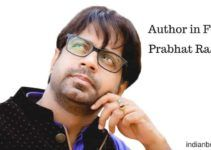 Author Prabhat Ranjan