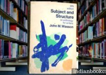 Subject and Structure, an anthology for writers review book